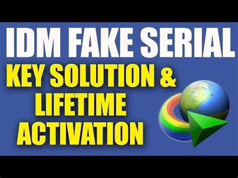 idm fake serial number free