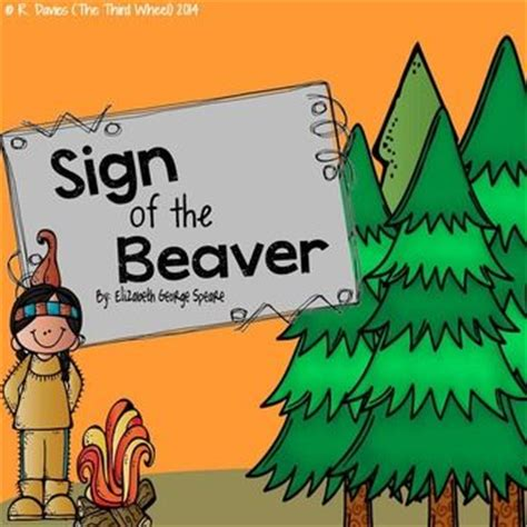 Book report on the sign of the beaver jpg 350x350